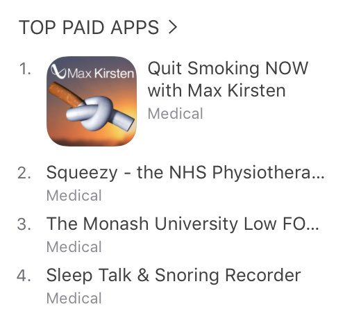 Quit Smoking - Number 1 Paid App